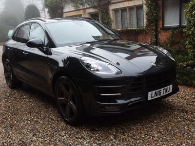 used Porsche Macan Turbo 3.6T PDK 4WD (s/s) 5dr