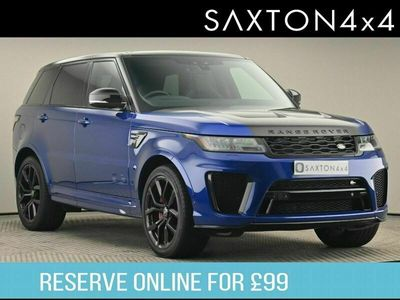 used Land Rover Range Rover Sport 5.0 P575 V8 SVR Auto 4WD (s/s) 5dr