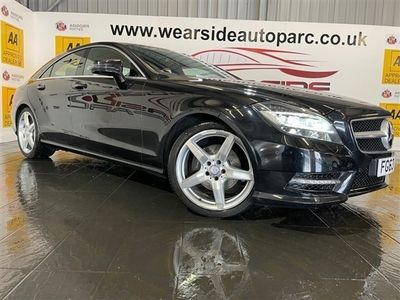 used Mercedes CLS250 CLS CLASS 2.1CDI BLUEEFFICIENCY AMG SPORT 4d 204 BHP