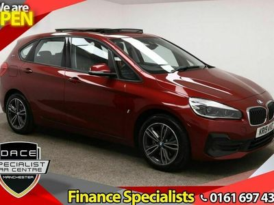 used BMW 225 Active Tourer 2 SERIES 1.5 XE SPORT PREMIUM 5d AUTO 134 BHP HALF LEATHER + CRUISE + 1 OWNER