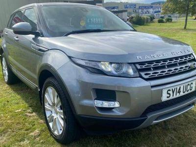 used Land Rover Range Rover evoque DIESEL AUTOMATIC ESTATE 5 DOORS