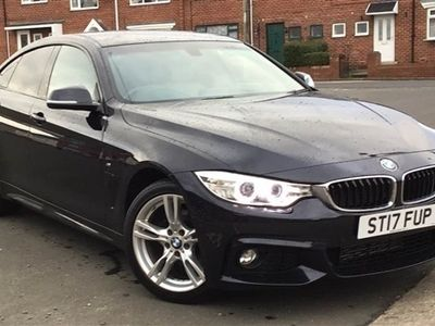 used BMW 420 4 SERIES 2017 Sunderland d [190] xDrive M Sport 5dr Auto [Prof Media]