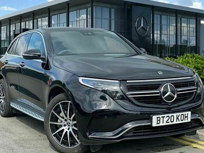 used Mercedes EQC400 300Kw Amg Line 80Kwh 5Dr Auto