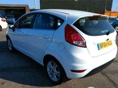 used Ford Fiesta 1.2 ZETEC 5d 81 BHP - ALLOYS hatchback