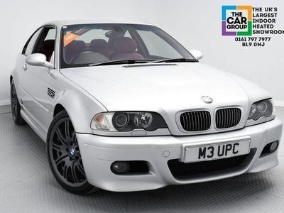 used BMW M3 3.2SMG 2d 338 BHP SILVER RED LEATHER INTERIOR SAT NAV A BEAUTIFULL EXAM