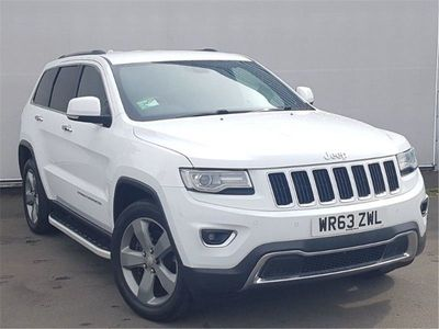 used Jeep Grand Cherokee Sw Diesel 3.0 CRD Limited Plus 5dr Auto