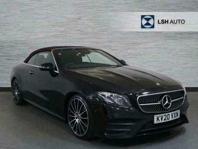used Mercedes E300 E Class 2.0AMG Line Night Edition (Premium Plus) Cabriolet G-Tronic+ (s/s) 2dr