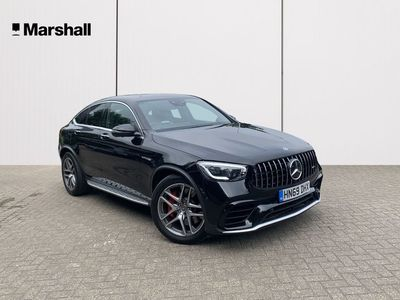 used Mercedes GLC63 AMG GLC CoupeS 4Matic+ Premium Plus 5Dr Mct