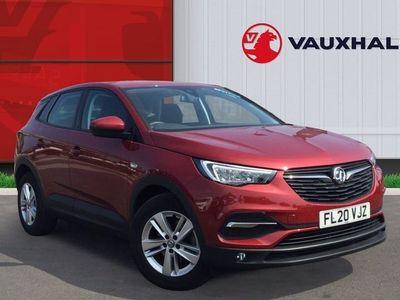 used Vauxhall Grandland X 1.2 Turbo SE SUV 5dr Petrol Manual (s/s) (130 Ps)