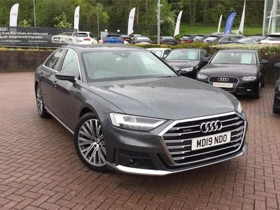 used Audi A8 A8 201950 TDI Quattro S Line 4dr Tiptronic Saloon Saloon 2019