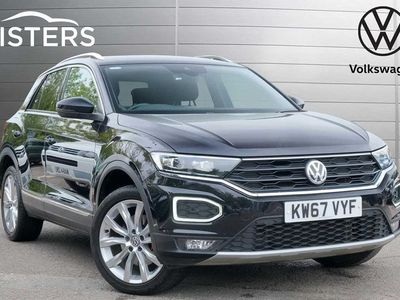 used VW T-Roc 2017 2.0 TSI SEL 190PS 4MOTION DSG