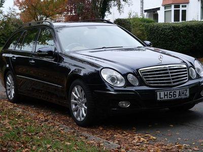 used Mercedes E500 E Class 5.5Elegance 5dr