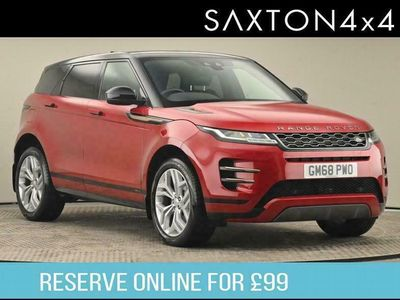 used Land Rover Range Rover evoque 2.0 P200 MHEV R-Dynamic S Auto 4WD (s/s) 5dr