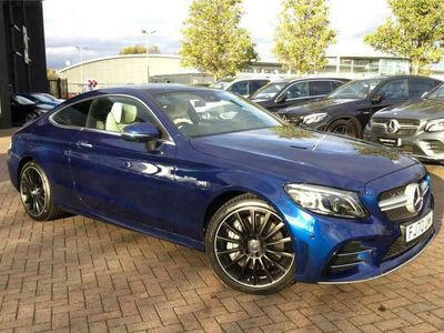 used Mercedes C43 AMG C CLASS AMG COUPE4Matic Premium Plus 2dr 9G-Tronic