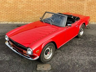 used Triumph TR6 2.5L // OVERDRIVE // CLASSIC CONVERTIBLE // PX 2-Door