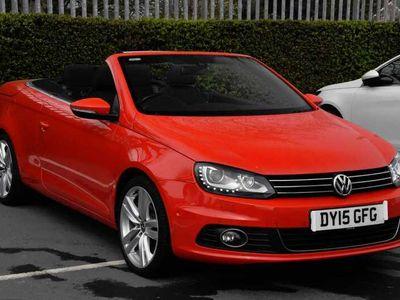 used VW Eos 2.0 TDi Sport DSG Cabriolet
