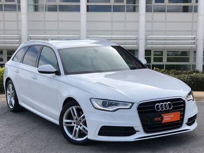 used Audi A6 2014 Stafford 2.0 TDI Ultra S Line 5dr