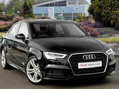 used Audi A3 Saloon S line 1.5 TFSI cylinder on demand 150 PS S tronic Saloon