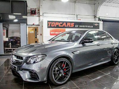 used Mercedes E63S AMG E Class4Matic+ Premium 4dr 9G-Tronic 4.0