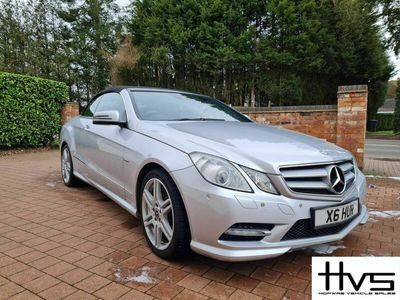 used Mercedes E200 E Class 1.8BlueEFFICIENCY Sport Cabriolet G-Tronic 2dr