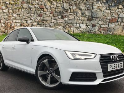 used Audi A4 2.0T Fsi Black Edition 4Dr S Tronic
