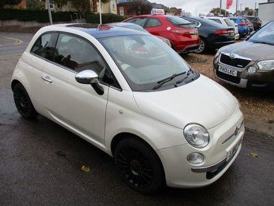 used Fiat 500 1.4 LOUNGE DUALOGIC 3d 99 BHP AUTO..LEATHER..SUNROOF