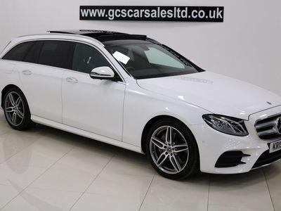 used Mercedes E200 E Class 2.0AMG Line (Premium) G-Tronic+ (s/s) 5dr