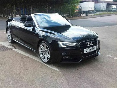 used Audi A5 Cabriolet Cabriolet 2.0 TDI S line Special Edition Plus Multitronic 2dr
