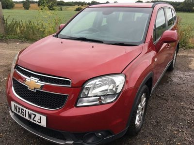 used Chevrolet Orlando 2.0 VCDi LT 5dr