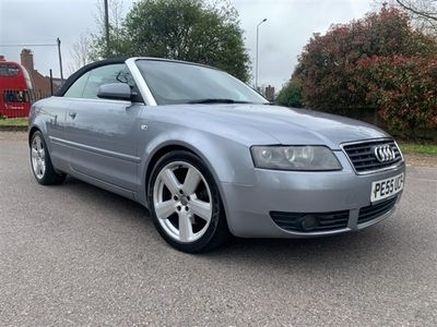 used Audi A4 Cabriolet TDI S LINE