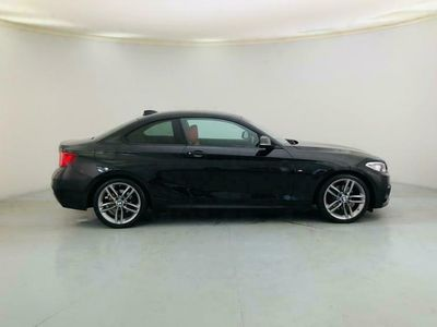 used BMW 220 2 SERIES 2.0 D M SPORT 2d AUTO 188 BHP [SAT NAV. LEATHER diesel coupe