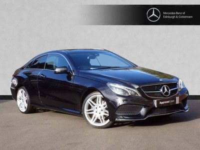 used Mercedes E220 E-ClassAMG Line Edition Premium 2dr 7G-Tronic