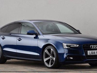 used Audi A5 2.0 TDI 150 Black Ed 5dr Multitronic [Nav] [5st] Blue Automatic Diesel