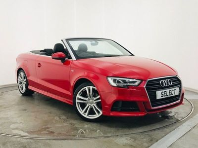 used Audi A3 Cabriolet 2.0 Tdi S Line 2Dr