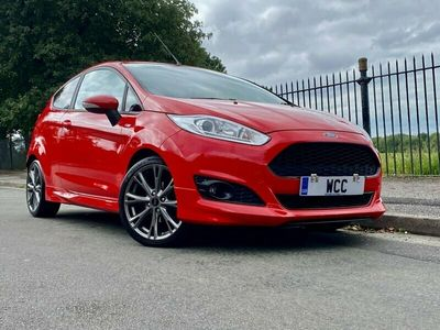 used Ford Fiesta 1.0 ST-LINE 3d 124 BHP RACE RED, CHEAP INSURANCE