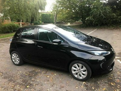 used Renault Zoe 22kWh Dynamique Intens Auto 5dr (Battery Lease)