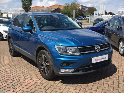 used VW Tiguan 2.0 TDI BlueMotion Tech SE Navigation 4Motion (s/s) 5dr