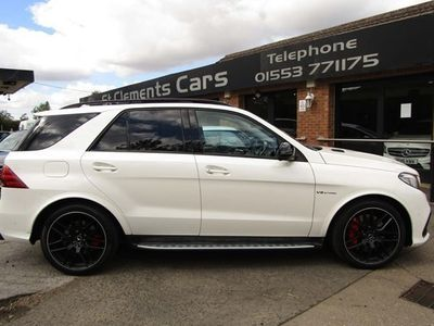 used Mercedes GLE63 AMG GLE-Class AMGS 4Matic Premium 4x4 Estate 5d 7G-Tronic
