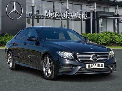 used Mercedes E220 E-ClassAMG Line 4dr 9G-Tronic