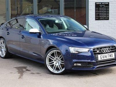used Audi S5 Sportback 3.0 TFSI S-TRONIC QUATTRO BLACK EDITION 5d 333 BHP PETROL AUTOMATIC