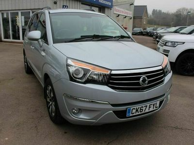 used Ssangyong Rodius Turismo 2.2 ELX 5d 176 BHP PURPOSEFUL 7 SEATER