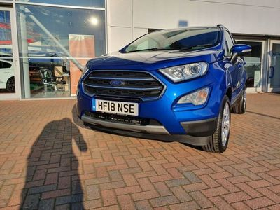 used Ford Ecosport 1.0 T EcoBoost Titanium (s/s) 5dr