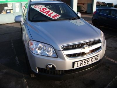 used Chevrolet Captiva 2.0 VCDi LT 5dr AUTOMATIC GEARBOX 7 SEATS