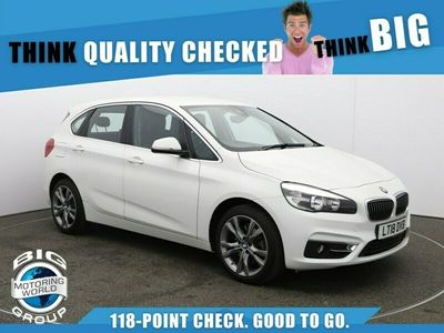 used BMW 220 Active Tourer 2 Series D LUXURY for sale | Big Motoring World