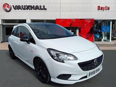 used Vauxhall Corsa New3 Door SRI VX-LINE NAV BLACK