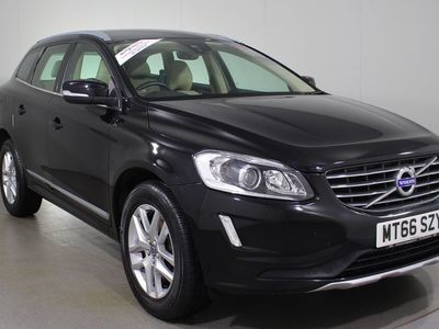 used Volvo XC60 2.4 D4 SE Lux Nav Geartronic AWD (s/s) 5dr Estate 2016