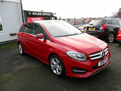 used Mercedes B180 B-Class 1.6SPORT EXECUTIVE 5d 121 BHP SERVICE HISTORY