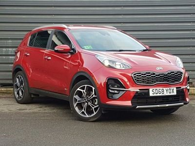 used Kia Sportage 1.6T Gdi Isg Gt-Line 5Dr Dct Auto [Awd]