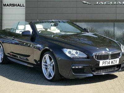 used BMW 640 Cabriolet 640d M Sport 2dr Auto