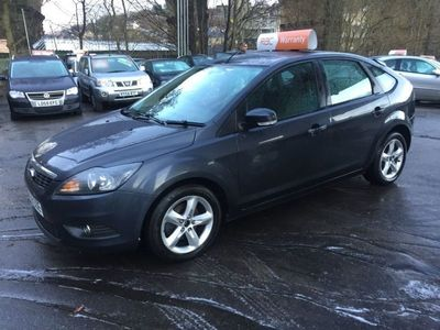 used Ford Focus 1.6 Zetec 5dr